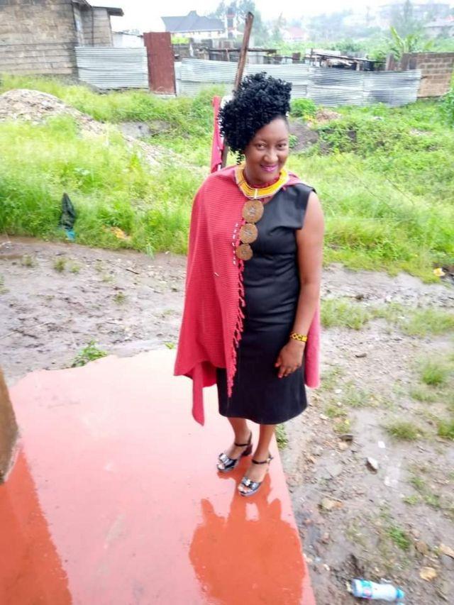 Narumbe Ekiru yarongowe afise imyaka 19, ariko akaba yagiye kwibaruka umwana wa mbere amaze gukorora inda zitatu zose.