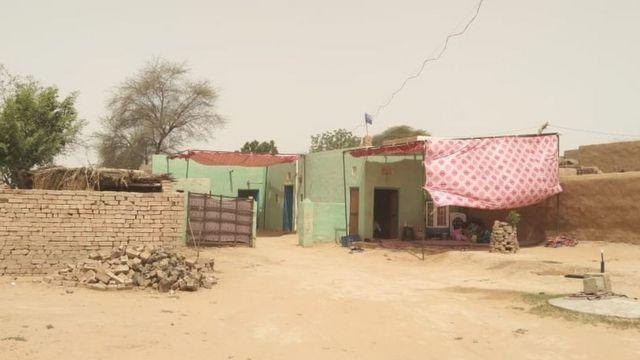 Vinod Meghwal's house