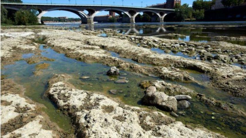 drier river