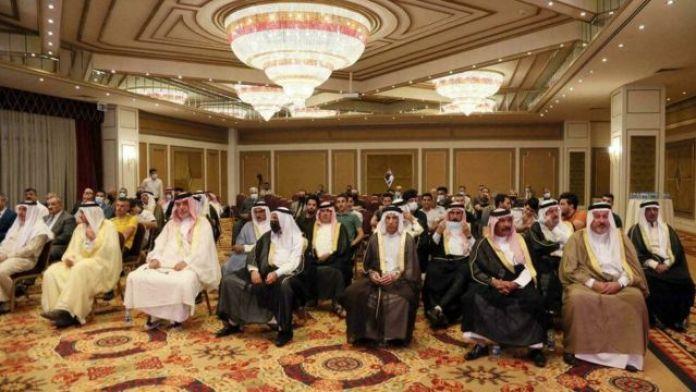 Iraqi figures at a conference in Iraqi Kurdistan