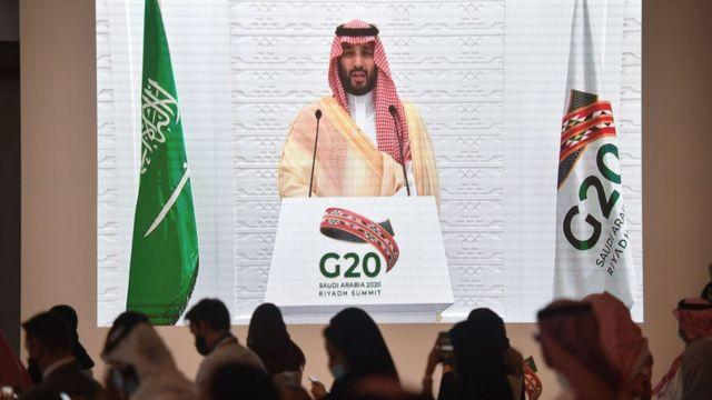 محمد بن سلمان في قمة العشرين