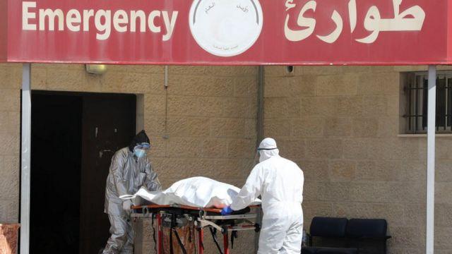A hospital in Nablus