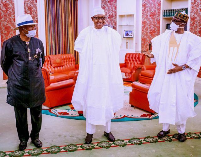 Buhari and National Security Advisor