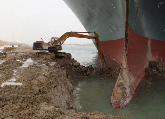 """""""长赐号""""脱困 苏伊士运河堵塞的经济损失和关键看点 """"长赐号""""脱困 苏伊士运河堵塞的经济损失和关键看点"""