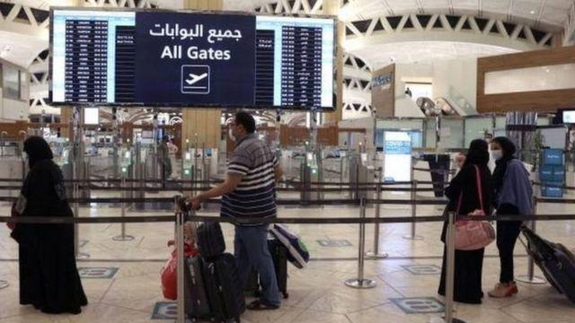 أحد المطارات السعودية