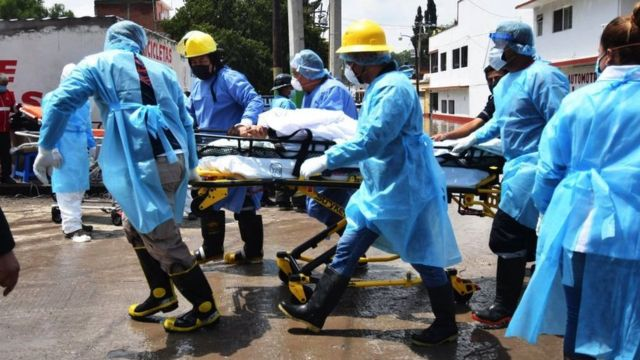 rescue of evacuees in Tula