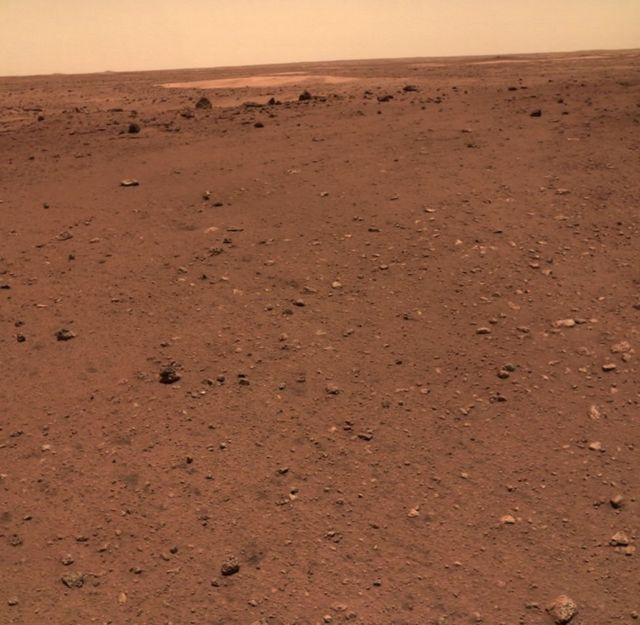 यूटोपिया प्लेनीशिया मंगल पर एक प्राचीन घाटी है