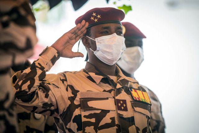 Le général Mahamat Deby