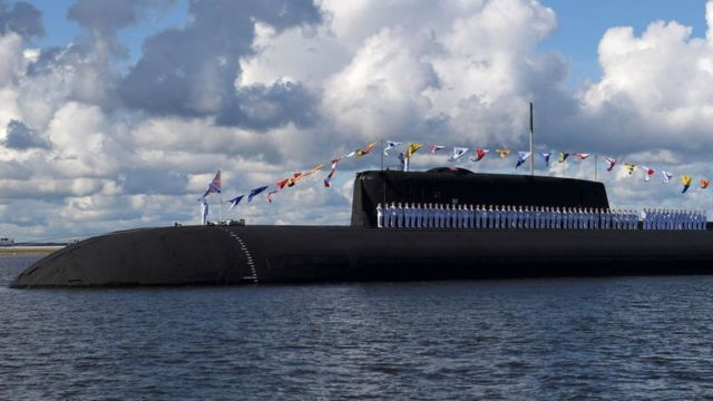 Submarino russo.