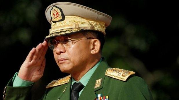 القائد العام للجيش في ميانمار