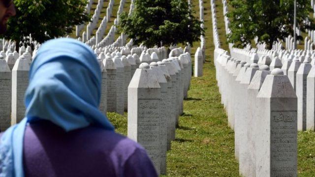 Cemeteries of the victims of the Srebrenica massacre