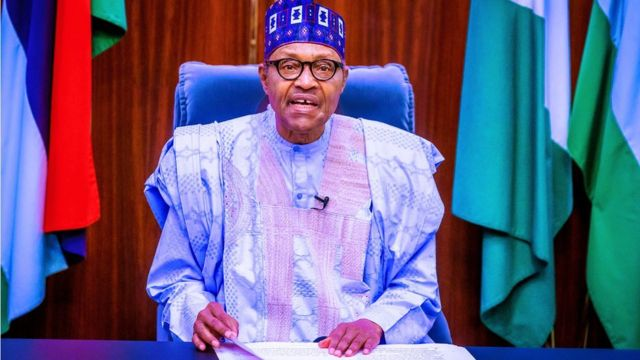 Muhammadu Buhari speech today