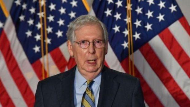 زعيم الجمهوريين في مجلس الشيوخ ميتش مكونيل