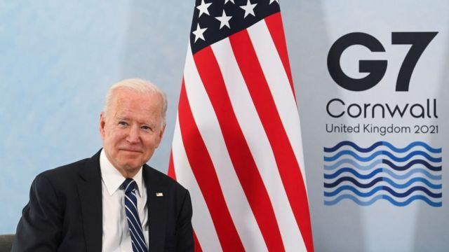 Joe Biden at the G7 Summit