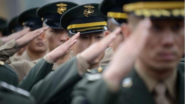 한국 군인