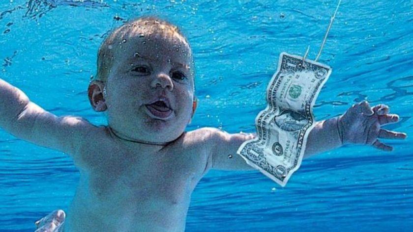 Nirvana's 'Nevermind' album cover