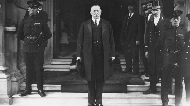 Sir James Farrer was elected the first Prime Minister of Northern Ireland in 1921. The position is equivalent to the current Chief Minister of Northern Ireland.