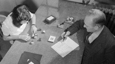 Prova de QI em 1947