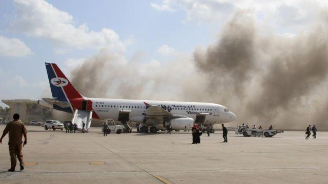 Aden Airport 30 December 2020