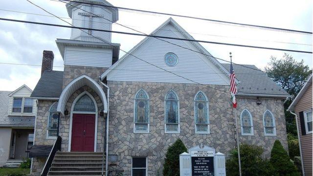 Church in Roseto, Pennsylvania