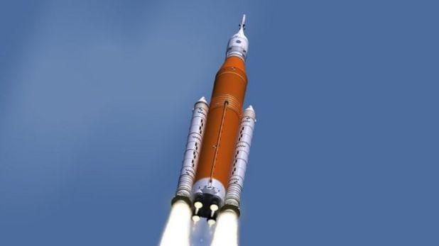 رسم توضيحي لإطلاق الصاروخ