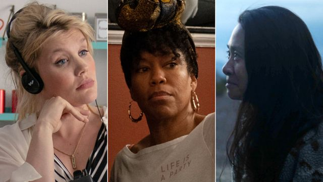 From left to right: Emerald Fennell, Regina King and Chloe Zhao