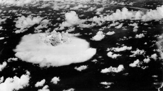 Все почалося з випробування США атомної бомби на атолі Бікіні