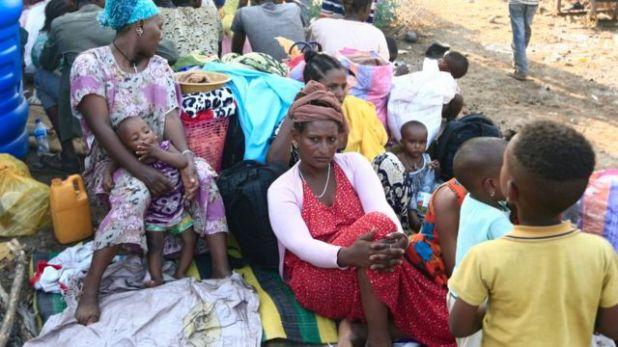 لاجئون من إقليم تيغراي نزحوا من مناطق القتال إلى السودان