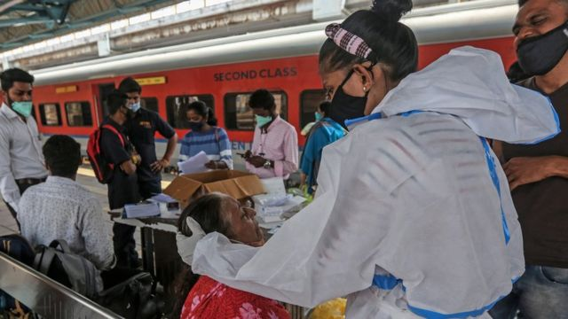 لدى الهند ثاني أعلى عدد من الإصابات بفيروس كورونا في العالم