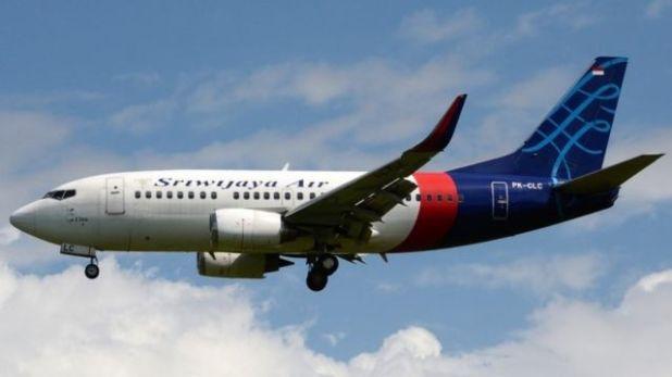 الطائرة التي يعتقد أنها تحطمت، رحلة سريويجايا الجوية