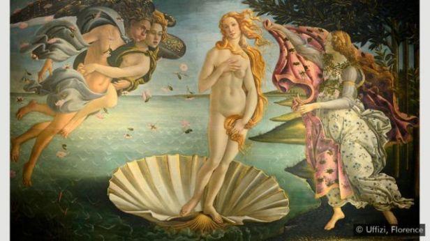 'O Nascimento de Vênus', de Botticelli