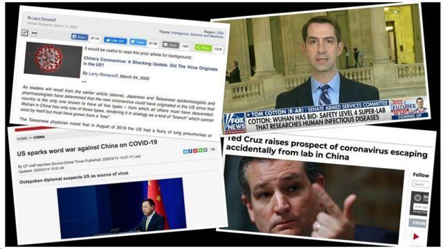 أطلقت الولايات المتحدة والصين نظريات لم يتم التحقق منها حول أصول فيروس كورونا