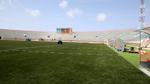 Garoonka kubadda Cagta ee Muqdisho Stadium