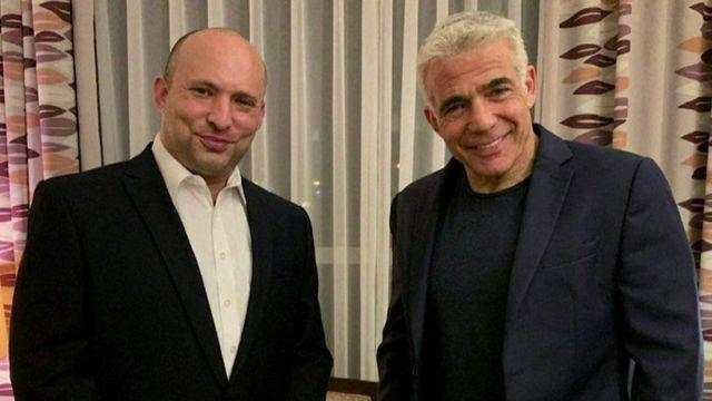 Naftali Bennett and Yair Lapid