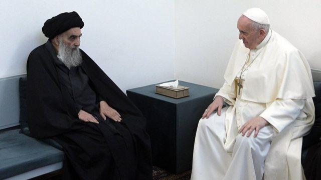 البابا -السيستاني