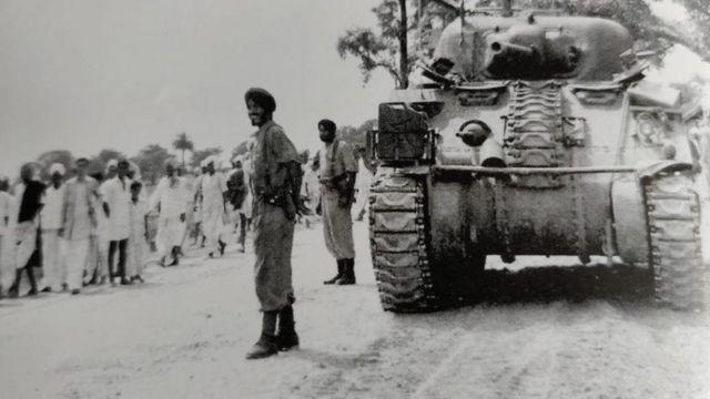 হায়দ্রাবাদে ভারতীয় সেনা
