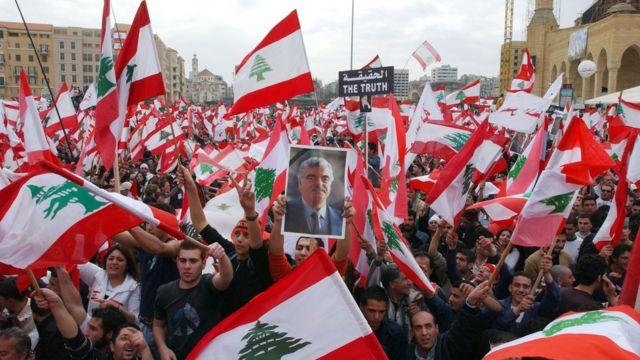 Mudaharaad Xariiri lagu taageerayey oo Beyruut ka dhacay (07/03/05)