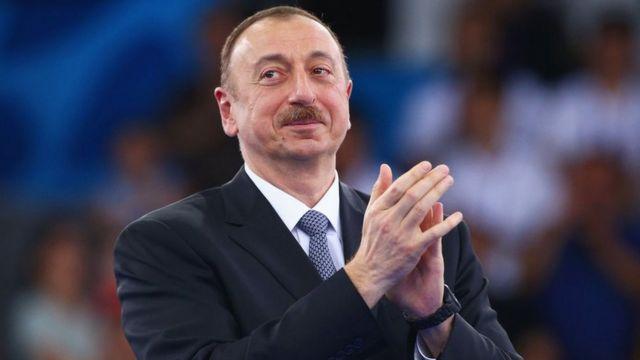 President of Azerbaijan Aliyev