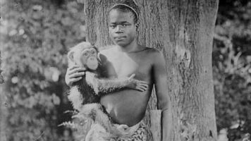 Ota Benga: Caged Congolese man dem put with monkey collect sorry from zoo 114 years afta - See why e take dem time to apologise - BBC News Pidgin