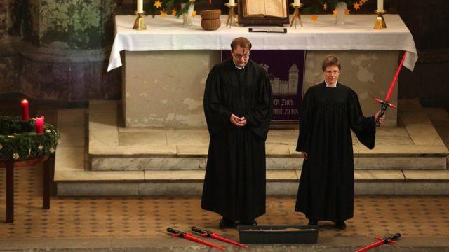 """""""Зоряні війни"""" у церкві в Берліні"""