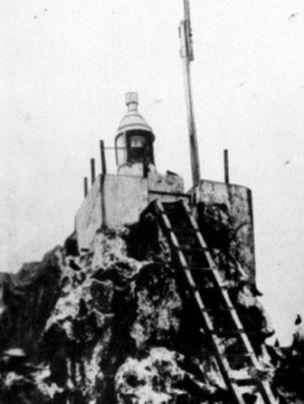Faro de la Isla de Clipperton.