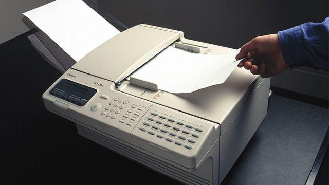 Nooc kamid ah Fax-kii la adeegsan jiray siddeetamaadkii