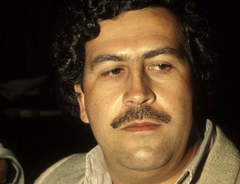 Pablo Escobar, in February 1988