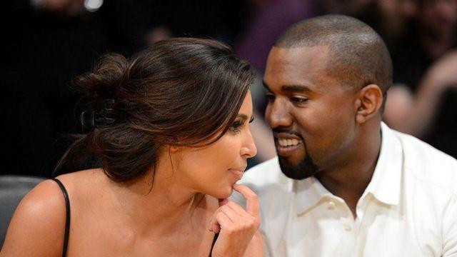 Kim Kardashian and Wakani West