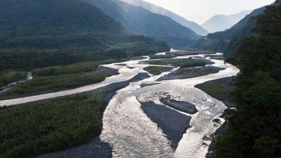 Rio Pastaza nos Andes, Equador