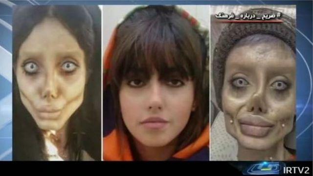 التلفزيون الإيراني بث مقابلة مع سحر تبر بعد اعتقالها العام الماضي