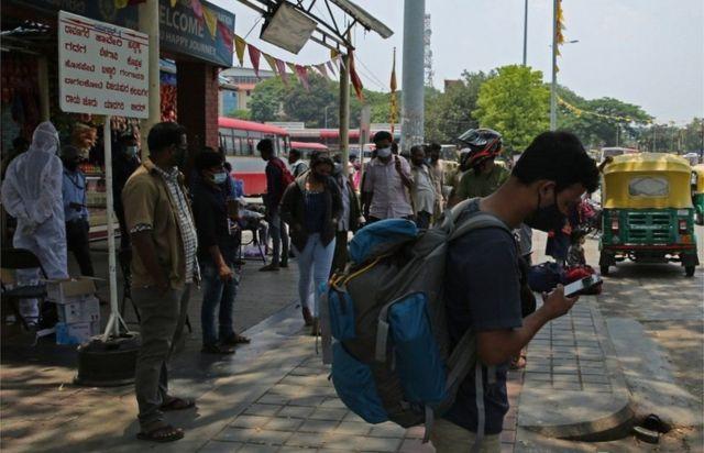 Corona outbreak in India