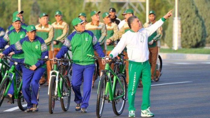 Turkmenistan President Gurbanguly Berdymukhamedov