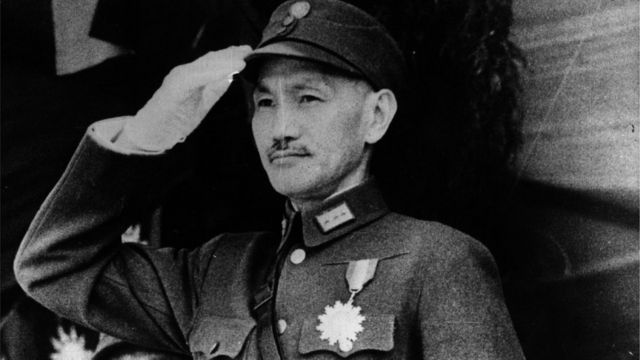 Nationalist leader Chiang Kai-shek