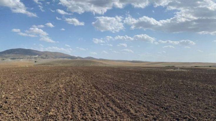 Ankara'da Polatlı'ya bağlı köylerde tarım temel geçim kaynağı.